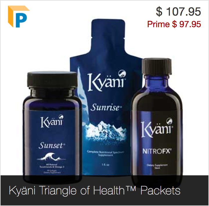 Kyani Products Triangle of Health