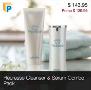 Order Fleuresse Cleanser and Serum Combo Pack
